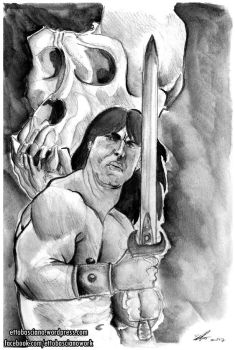 Conan and the Skull by EttoBascianoWorks