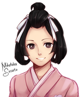 Mikotoba Susato by maesketch
