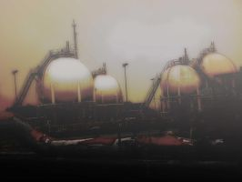 Industrial Landscape by adidaprean