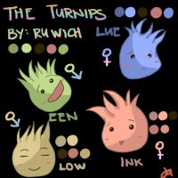 INTRODUCING: The Turnips by Ruwich