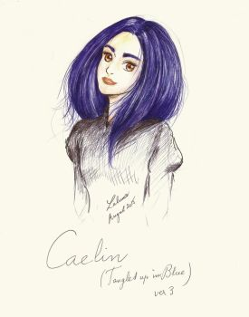 Caelin - Tangled Up In Blue. Ver3 by LalunaPiena96
