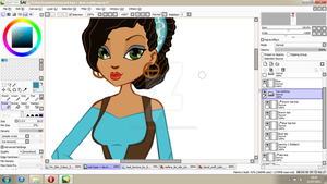 WIP - Devin Scarlett - Ever After High - OC by FrancescaAbigail95