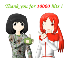 10000 Hits by redcomic