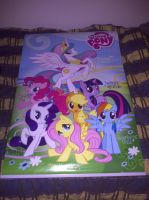 My Little Pony FIM poster by EgonEagle