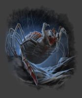 Giant Spider by GraphicGeek