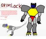 TF Infinity: Grimlock by InvaderToum