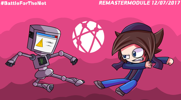Computerbot Versus. StickBlue - Battle For The Net by RemasterModule