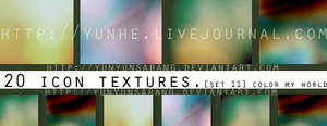20 textures : color my world by yunyunsarang