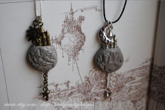 EC Professor of Light and Darkness Necklaces by yrantho