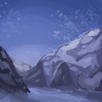 Everest: speedpaint 1 by Magicpawed
