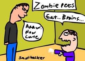 Zombie Pets by Smallhacker