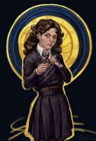The Girl with a Time Turner by HeathWind
