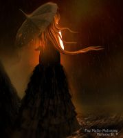 Golden Rain by Fae-Melie-Melusine