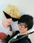 Strife- Dirk and Jake by artemis-elric