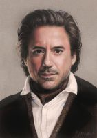 Robert Downey Jr. by vikygrafikk