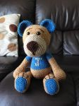 Amigurumi Teddy Bear by TombRaiderKuchen