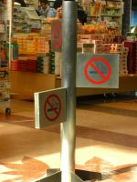 By the way, No Smoking. by blindbutblink