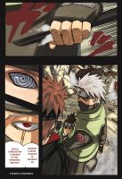 kakashi x pein by e-maney