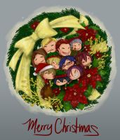 Free! Advent Wreath by Kiriska
