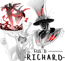 -Elle D. Richard- by TacosaurusRex