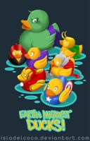 Earth's Mightiest Ducks by IslaDelCoco
