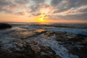 Sunrise at Cronulla 6 by deviantjohnny99