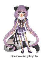 Sailor Irbis Pixel by Marushi-Dracul
