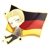 APH Ludwig and Flag by bianca0908