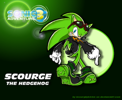 .:Scourge the Hedgehog- Soap Shoes:. by 5courgesbestbuddy