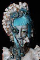 OOAK Art Doll Sculpt by cliodnafae27