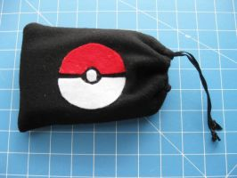 DS Carrying Case - Pokeball 4 by PaperCadence