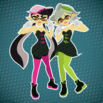 Squid Sisters by Narxinba222