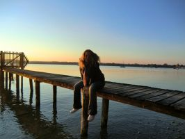 Cordelia am Ammersee by ArtandMore