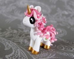 Lotus Unicorn by DragonsAndBeasties
