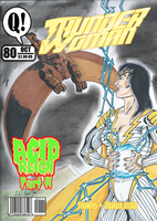 Thunder Woman No. 80 Mock Cover by BSDigitalQ