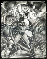 Art Deco Batman by BigRob1031