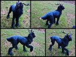 Handmade poseable Galaxy stag SOLD by KaypeaCreations