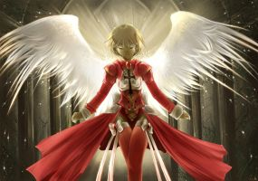 .The Blessed Wings of Elena. by shirotsuki