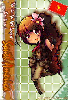 APH OC Card: South America by GeekyKitten64