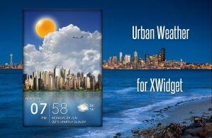 Urban Weather for xwidget (edited) by jimking