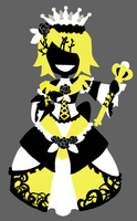 Vocaloid - Queen of Yellow by Dj-Mewmew