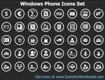 Windows Phone Icons Set by Ikonod