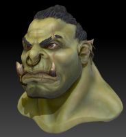 An orc! Ha ha! by overmind81