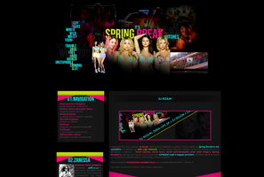 Spring Breakers layout by hellomia