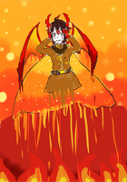 demon of the sun by Roxasthehedgehog759