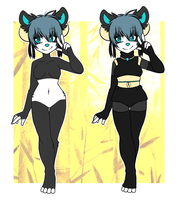 Adoptable: Panda $20 by ValentineBites