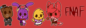 Fnaf Banner by Cookie-and-her-foxes