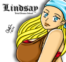 Total Drama Divaz: Lindsay by blwhere