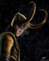 Loki - God of Mischief by andepoul