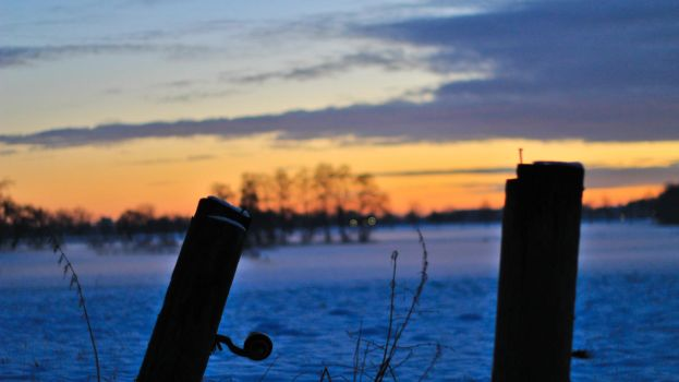 Rural Sunset by TwusternPhotography